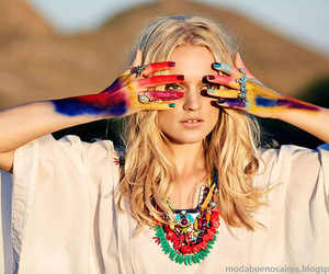 bohemian and colorful image