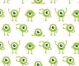 wallpaper, mike, and monster image