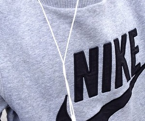 nike, black, and music image