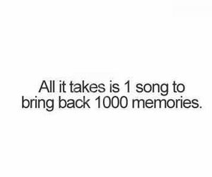 song, memories, and true image