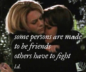 friendship, one tree hill, and peyton image