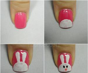 nails, rabbit, and bunny image