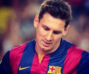 Barca, leo messi, and fc barcelona image