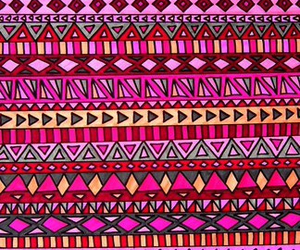 background, pink, and tribal image