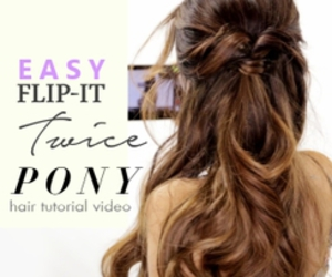 hair, hairstyle, and Easy image