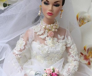 wedding barbie beautiful image