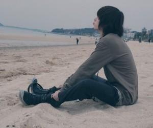 beach, boy, and korean image