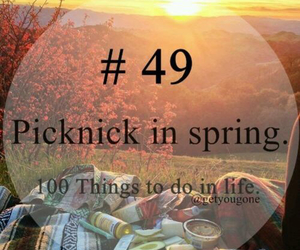 spring, 49, and picknick image