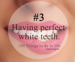 dreams, teeth, and perfect smile image