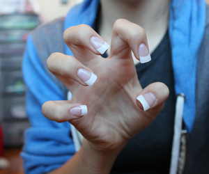 quality, girl, and nails image