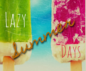 Lazy, popsicles, and summer image