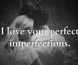 couple, imperfections, and love image