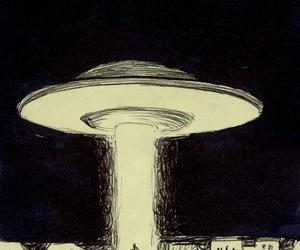alien, j, and Ovni image