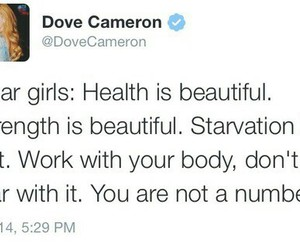 twitter and dove cameron image