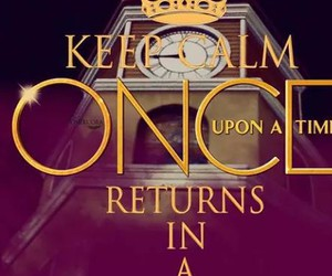 keep calm, magic, and once upon a time image