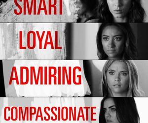 pll, pretty little liars, and compassionate image