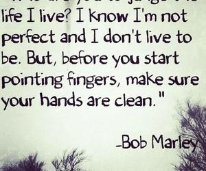 quotes, bob marley, and judge image