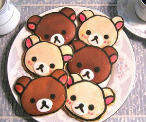 cute, bear, and Cookies image