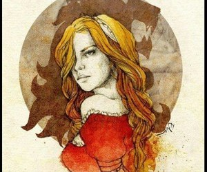 game of thrones, art, and cersei lannister image