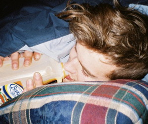 boy, drink, and hipster image