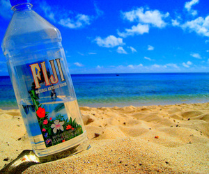 fiji, beach, and water image