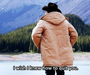 brokeback mountain, jake gyllenhaal, and quote image