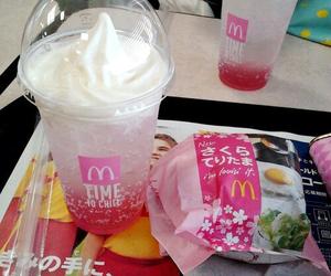 food, pink, and japan image