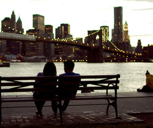 new york city, love, and couple image