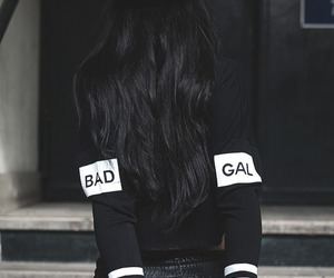 bad, bad gal, and white image