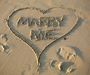 marry me and love image