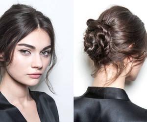 hair, braid, and Dolce & Gabbana image