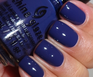 blue, dark, and nails image