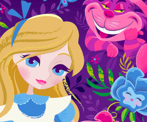 alice and wallpaper image