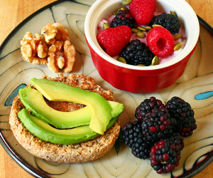food, avocado, and breakfast image