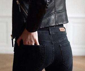 black, jeans, and zomer image