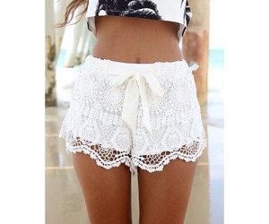 white, outfit, and summer image