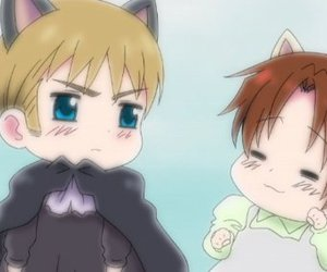 holy roman empire, cute, and hetalia image