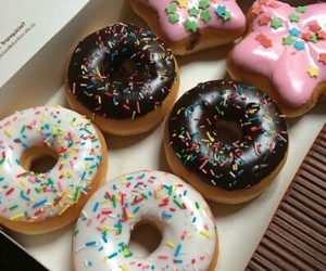 donuts, food, and miam image