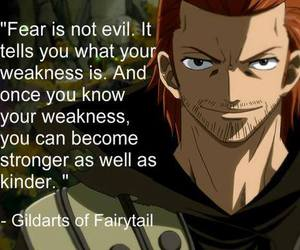 quote, fairy tail, and gildarts image