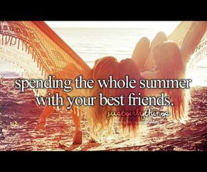 beach, best friend, and bucket list image