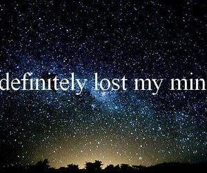 mind, lost, and quote image