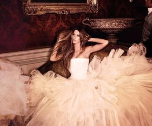 dress, model, and Gisele Bundchen image