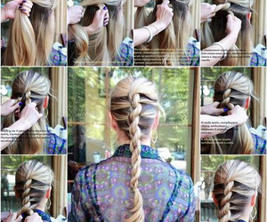 blond, diy, and fashion image