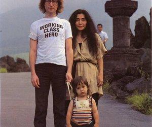 john lennon, Yoko Ono, and sean lennon image