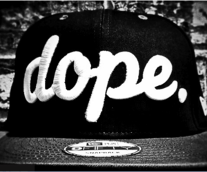 dope, swag, and hat image