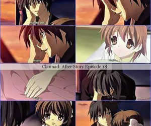 clannad, tomoya, and ushio image