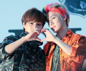 kai, exo, and sehun image