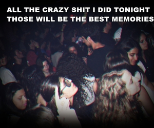 crazy, memories, and party image