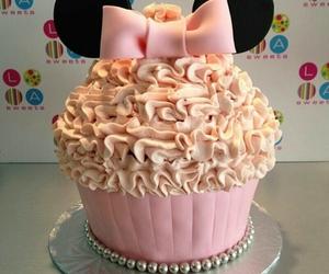 cupcake, pink, and yummy image