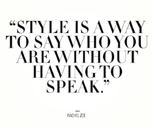 style, quote, and text image